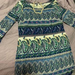 MINT!!! Long-sleeve Paisley Old Navy Dress